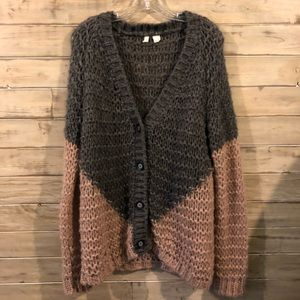 Anthropologie MOTH knitted cardigan